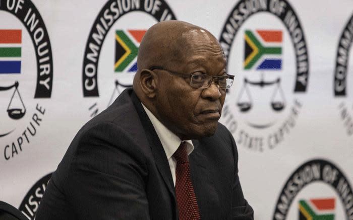 Zuma: Deputy Chief Justice Zondo is biased against me, must recuse himself - Eyewitness News
