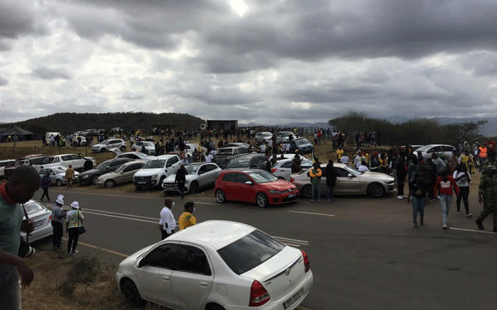 Minister Cele promises action against Zuma supporters who gathered in Nkandla