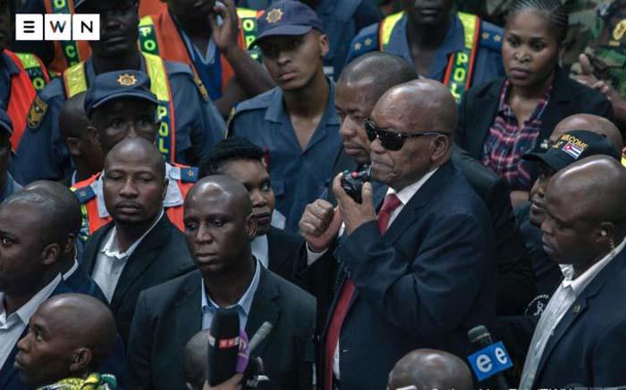 Supporting Zuma doesn't mean undermining Ramaphosa - Magashule - Eyewitness News