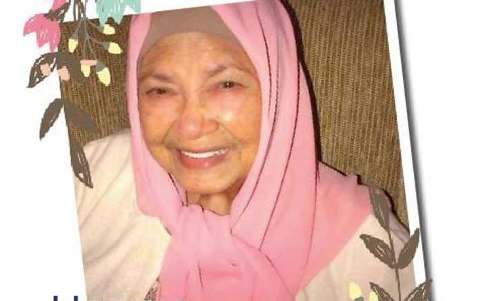 Galiema Haron sterf 93 - EWN