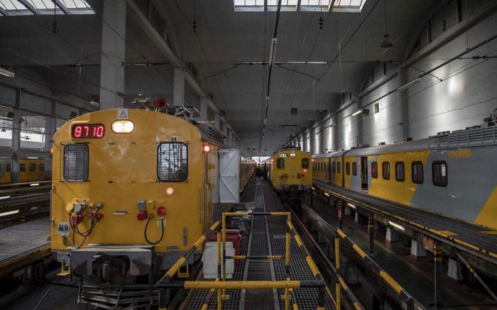 Prasa-oorlogskamer om treinstandhouding, kontrakte, te prioritiseer, sê EWN, uitvoerende hoof
