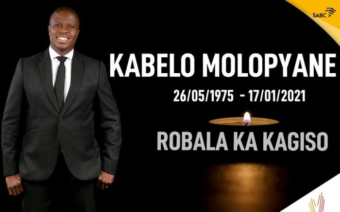 Motsweding FM presenter Kabelo Molopyane dies - Eyewitness News