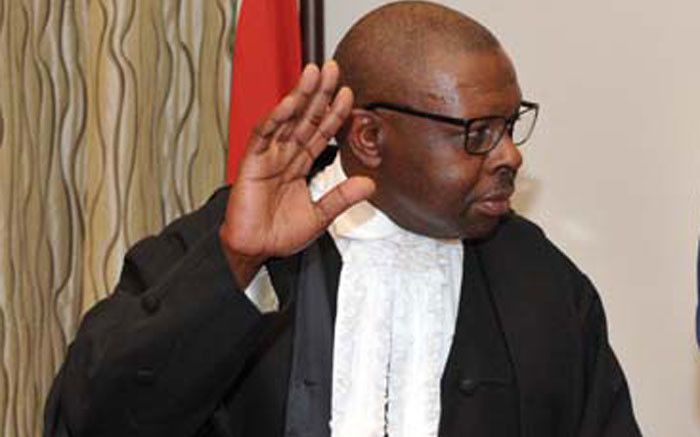 Hlophe drops application to block impeachment proceedings, suspension - Eyewitness News