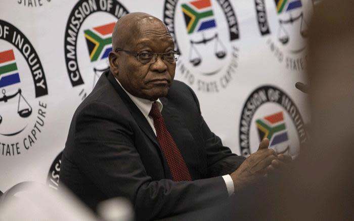 Zuma sal appèl uitspraak lewer oor die tweet van Hanekom 'vyandelike agent' - EWN