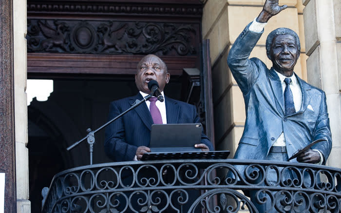 Ramaphosa urges youth to follow in footsteps of Madiba, freedom fighters - Eyewitness News