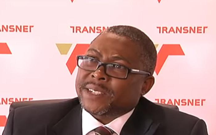 A video screengrab of Transnet CEO Siyabonga Gama. Picture: YouTube