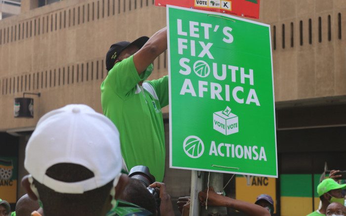 ActionSA loses court bid to have IEC place its name on ballot papers - Eyewitness News