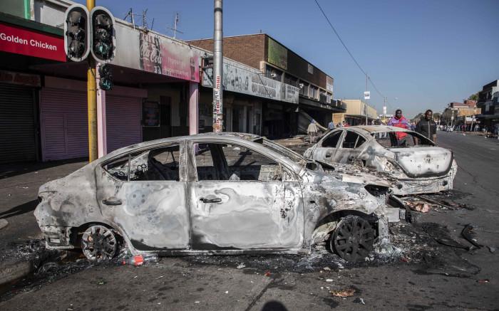 Nosiviwe Mapisa-Nqakula: Gauteng violence well-organised criminality - EWN
