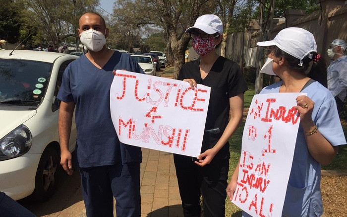 Family of slain Dr Abdulhay Munshi say they won't rest until justice prevails - Eyewitness News