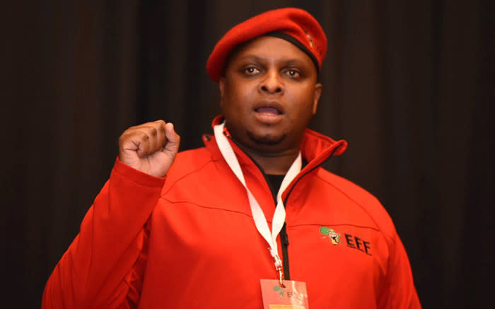 EFF chief whip Floyd Shivambu. Picture: @EFFSouthAfrica/Twitter