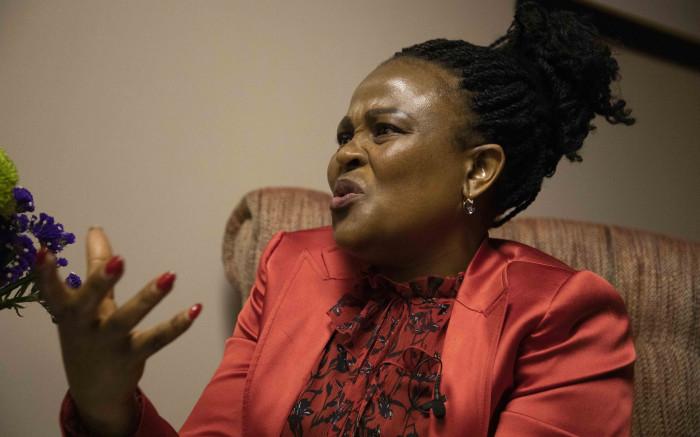 Mkhwebane beskuldig die presidentskap daarvan dat hy nie Suid-Afrikaners beskerm het nie - EWN