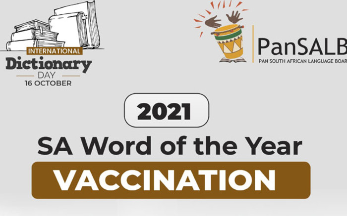 'Vaccination' announced as SA's word of the year