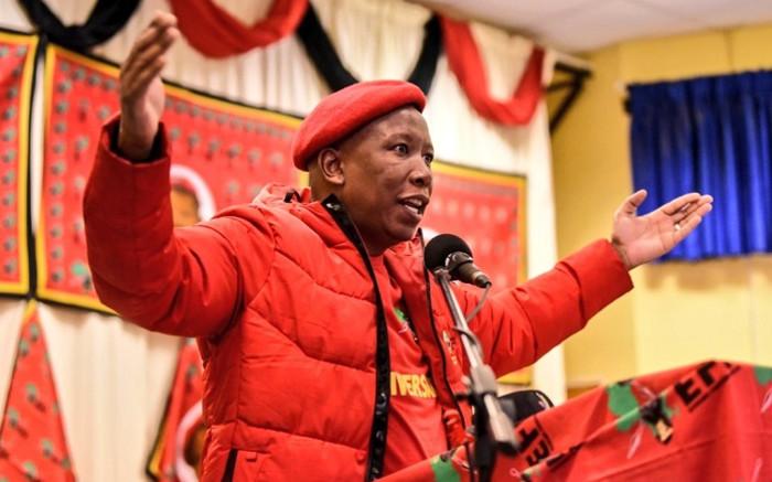 Malema beskuldig die ANC-raadslede vir die eis van seks vir huise, werk - EWN