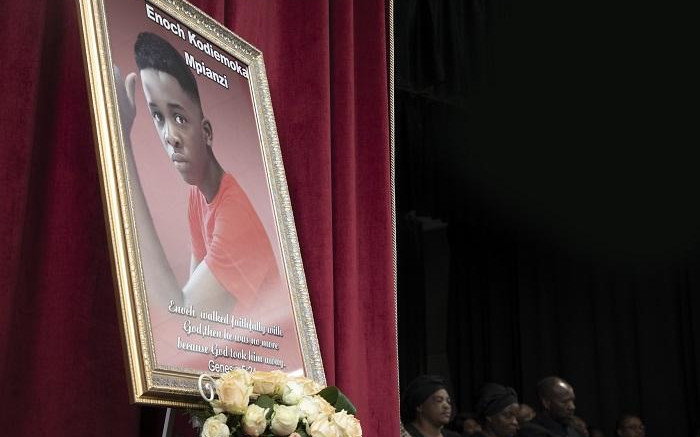 GDE offers Enock Mpianzi's parents R700k compensation for his death - Eyewitness News