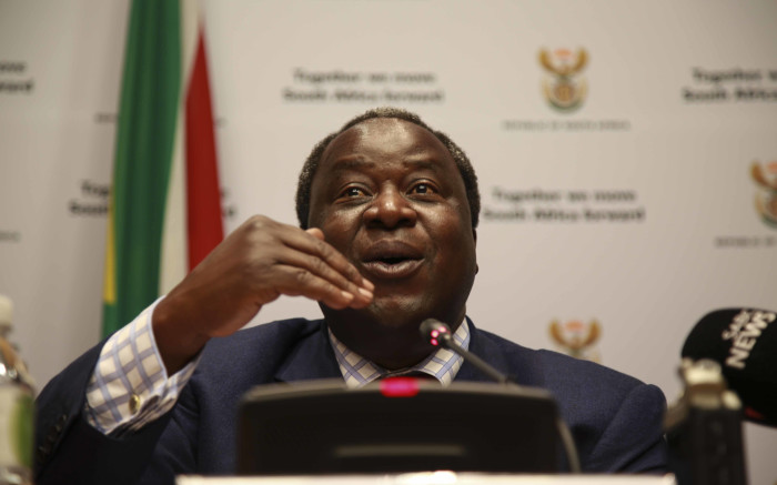 Mboweni: S.Africans must roll up their sleeves after Moody's rating - EWN