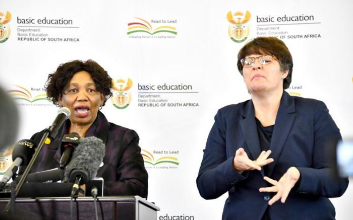 'We're going to knock on department, Motshekga's doors' - EWN