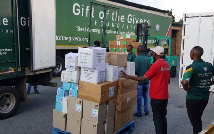 Gift of Givers sets up testing centres but warns: 'We don't just test anybody' - EWN
