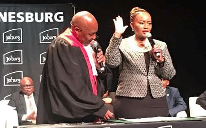 City of JHB's Mally Mokoena steps in for Loyiso Masuku amid PPE scandal - EWN