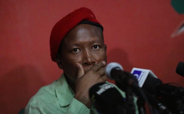 Malema lied about assault on cop at Madikizela-Mandela funeral - AfriForum - EWN