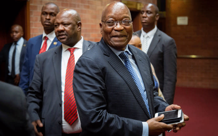 Zuma thanks SA after calling in sick ahead of State Capture appearance - EWN