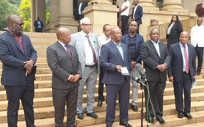 Opposition party leaders urge public to comply with gov't COVID-19 measures - EWN