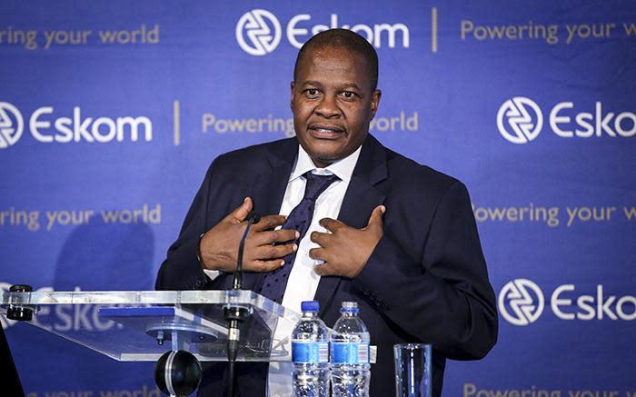 Solidariteit wil hê dat Eskom-pensioenfonds R10 miljoen van Molefe - EWN moet verhaal