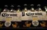 Bottles of Corona beer displayed at a supermarket in San Rafael, California. Picture: AFP