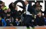 Everton's caretaker manager Duncan Ferguson celebrates on the touchline after Everton's English striker Dominic Calvert-Lewin makes the score 3-1 during the English Premier League football match between Everton and Chelsea at Goodison Park in Liverpool, northwest England on 7 December 2019. Picture: AFP.