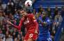 Liverpool defender Joel Matip (L) vies with Chelsea's defender Kurt Zouma (R) during the English Premier League football match between Chelsea and Liverpool at Stamford Bridge in London on 22 September 2019. Picture: AFP