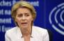 FILE: Newly elected European Commission President Ursula von der Leyen speaks as she attends a news conference after a vote on her election at the European Parliament in Strasbourg, eastern France on 16 July 2019. Picture: AFP.
