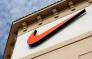 The Swoosh logo on a Nike factory store in Florida. Picture: AFP.
