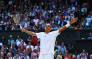 Australian Nick Kyrgios celebrates his victory over world number one Rafael Nadal at Wimbledon. Picture: Facebook.com