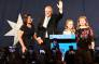 FILE: Australia's newly elected Prime Minister Scott Morrison (C) arrives to deliver a victory speech with his family after winning the Australia's general election in Sydney on 18 May 2019. Picture: AFP