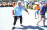 Hundreds of elderly people packed Green Point track today to participate in the older person's games. Picture: Bertram Malgas/EWN