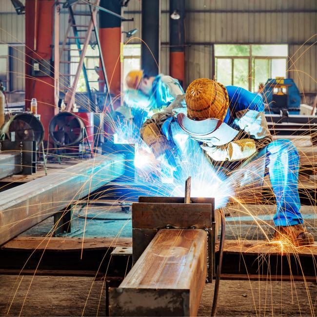 Steel industry 123rf