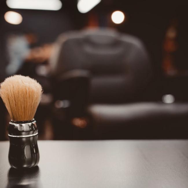 Barber shop haircut and beard shave 123rf