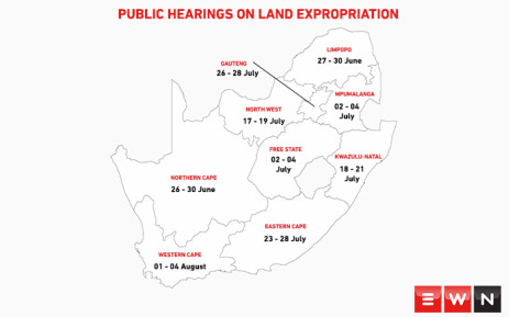 Parliament has finalised a programme for countrywide hearings. Find out when it happens in your province. Picture: Cindy Archillies/EWN