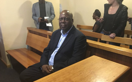 The convenor of the African National Congress's interim structure Mike Mabuyakhulu was arrested on charges of corruption, among others on 7 February 2018. Picture: Ziyanda Ngcobo/EWN