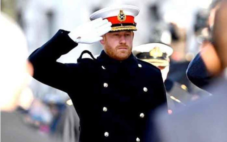 Prince Harry at the National Service of Remembrance in November 2019. Picture: Instagram/sussexroyal