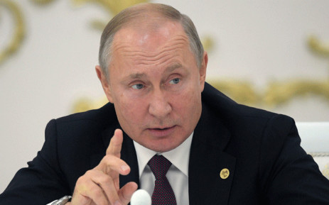 FILE: Russian President Vladimir Putin on October 11, 2019. Picture: AFP