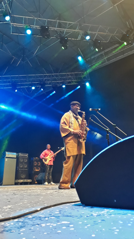 Sipho Hotstix Mabuse at the Bassline Fest 26 May, 2018. Picture: Lungelo Matangira/EWN