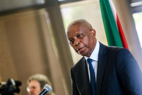 FILE: Herman Mashaba announces his resignation as Johannesburg Mayor on 21 October 2019. Picture: Kayleen Morgan/EWN