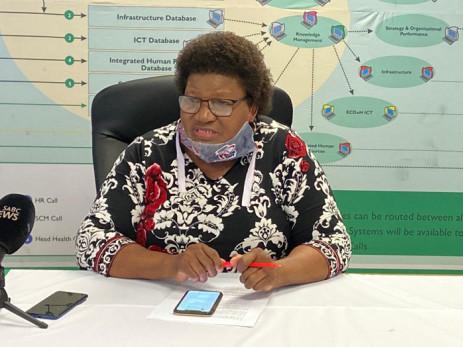 Former Eastern Cape Health MEC Sidiswa Gomba. Picture: @healthecmec/Twitter