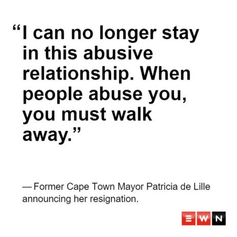 4 scathing quotes from Patricia de Lille on the DA
