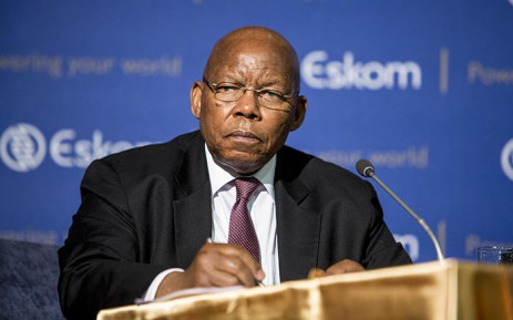 Eskom board chairperson Ben Ngubane addresses a media briefing at the power utility's head office in Johannesburg on 4 November 2016. Picture: Reinart Toerien/EWN