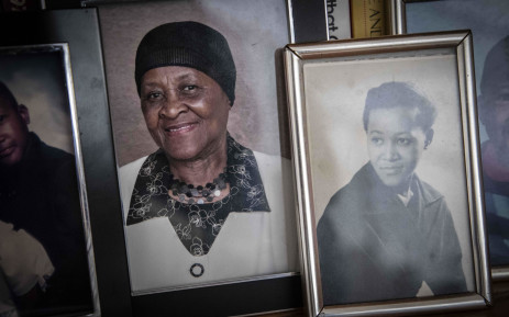 Pictures of a younger Albertina, daughter of the late chief Albert Luthuli. Picture: Abigail Javier/EWN
