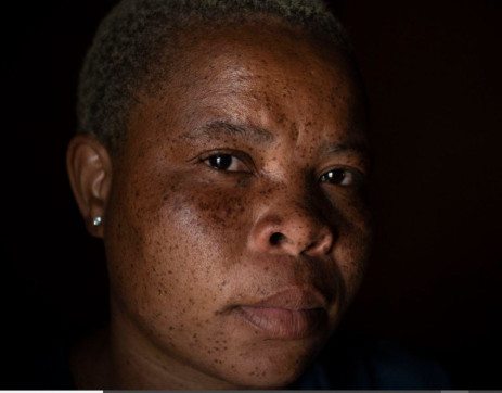 1 September 2021: Dora Huma had been Nonhle Aphane's friend for more than two decades and says they were like sisters. Picture: New Frame.
