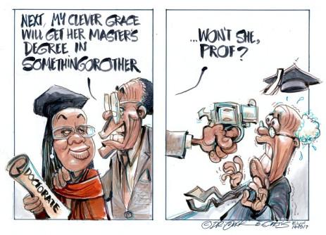 Introducing Dr (Dis)Grace Mugabe