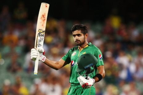 Babar Azam. Picture: Twitter/@ICCMediaComms
