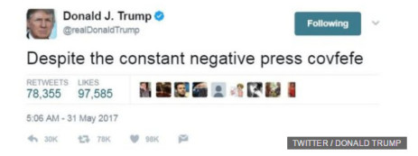 So what does Covfefe really mean?